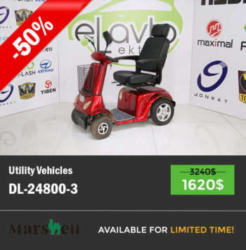 Mobility scooter DL24800-3