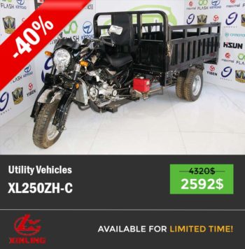 Cargo tricycle XL250ZH-C